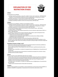 Fire Restriction Explanation 5_23_18